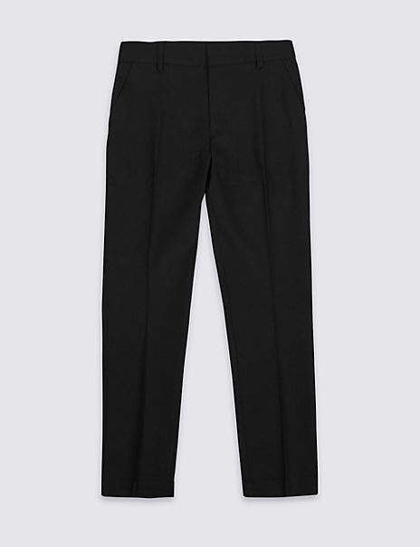 Senior Boys' Skinny Leg Longer Length Trousers