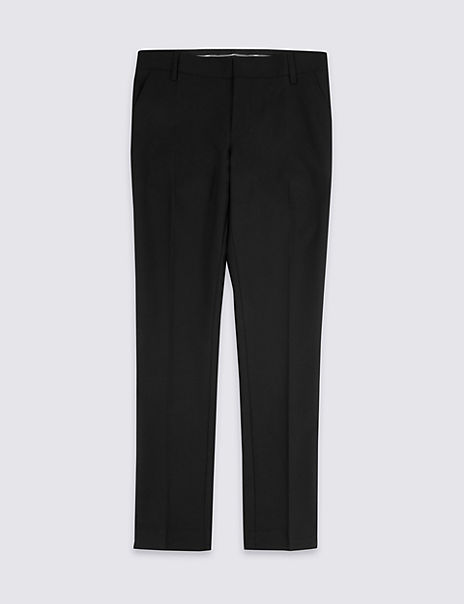 Senior Boys' Super Skinny Leg Slim Fit Trousers