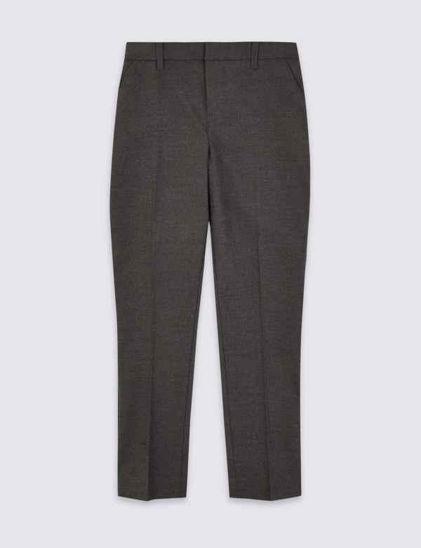bffa6a42ee8e45 Boys School Trousers & Shorts | Skinny School Trousers | M&S