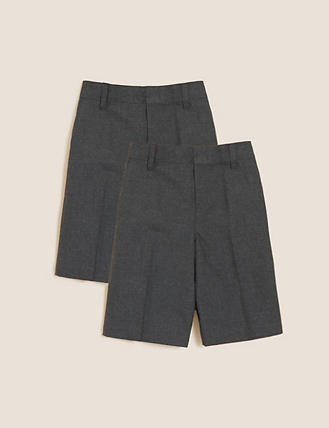 2 Pack Boys' Easy Dressing Shorts