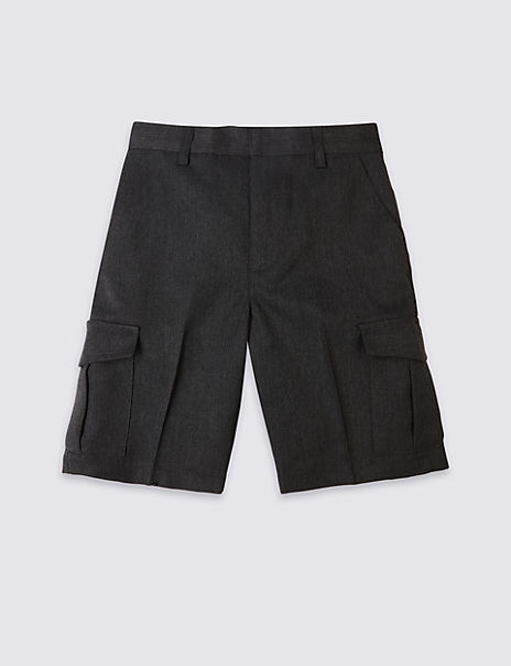 Boys' Plus Fit Cargo Shorts