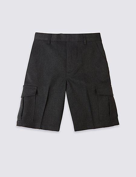Boys' Plus Fit Cargo Shorts