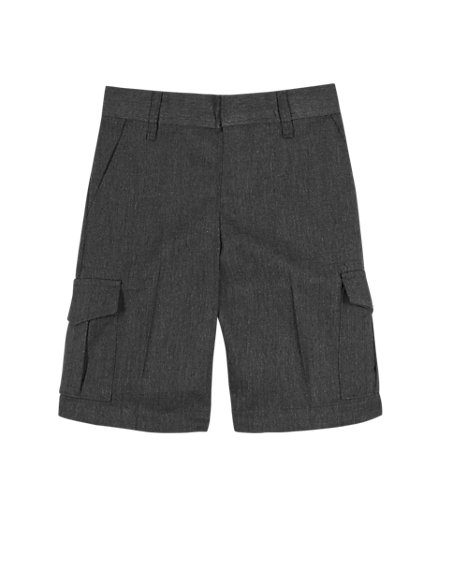 Boys' Crease Resistant Stain Resistance™ Cargo Shorts with Triple Action Stormwear™