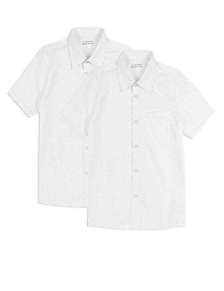 2 Pack Boys' Non-Iron Shirts