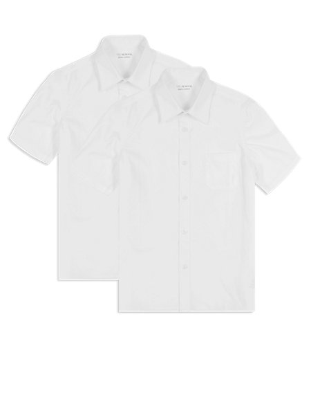 2 Pack Boys' Pure Cotton Shirts