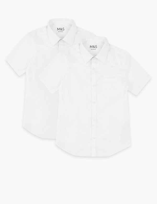 4359aa1f820dbf Girls' School Shirts, Blouses & Polo Shirts   M&S