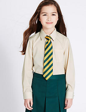 2 Pack Girls' Non-Iron Blouses