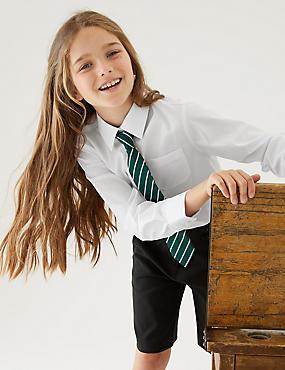 c08ca5c62 Pack de 2 blusas de ajuste estándar sin planchado para chicas