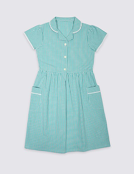 Girls' Skin Kind™ Gingham Dress