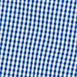 Girls' Plus Fit Gingham Pure Cotton Dress, BLUE, swatch
