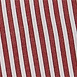 Girls' Pure Cotton Striped Dress, RED, swatch