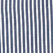 Girls' Pure Cotton Striped Dress, NAVY, swatch
