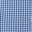Girls' Gingham Pure Cotton Dress, BLUE, swatch