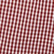 Girls' Pure Cotton Gingham Playsuit, RED, swatch