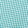 Girls' Pure Cotton Gingham Playsuit, GREEN, swatch