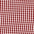 Girls' Gingham Pure Cotton Zip Dress, RED, swatch