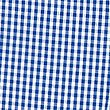 Girls' Pure Cotton Gingham Zip Front Dress, BLUE, swatch