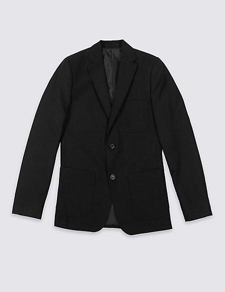 Senior Boys' Plus Fit Blazer