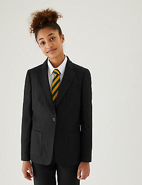 Senior Girls' Slim Fit Blazer