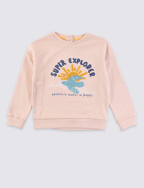 Super Explorer Sweatshirt (3 Months - 7 Years)