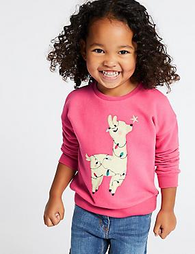 Llama Sweatshirt (3 Months - 7 Years)