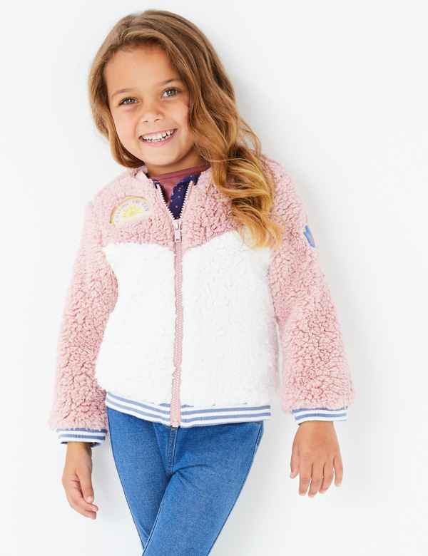 b92f9bd1a Girls Coats & Jackets | Leather & Winter Coats | M&S IE