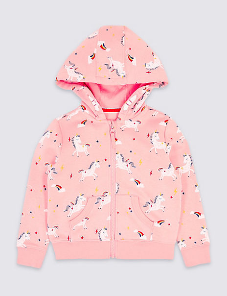 Unicorn Hooded Top (3 Months - 7 Years)