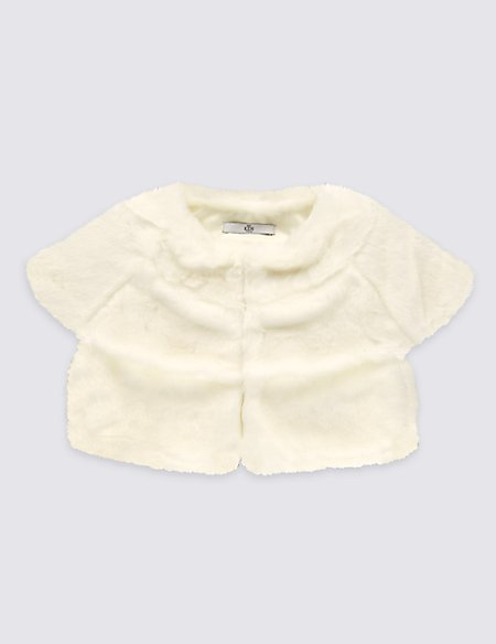 Shrug Cap Sleeve Cardigan (1-14 Years)
