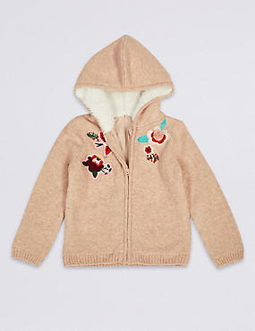 Embroidered Cardigan (3 Months - 7 Years)