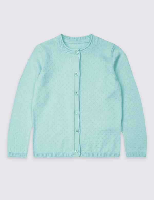 27576584e38 Cotton Rich Cardigan (3 Months - 7 Years)