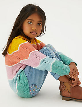 Knitted Striped Jumper (2-7 Yrs)