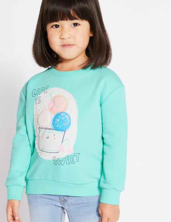 5a966eacc65 Ice Cream Print Sweatshirt (3 Months - 7 Years)