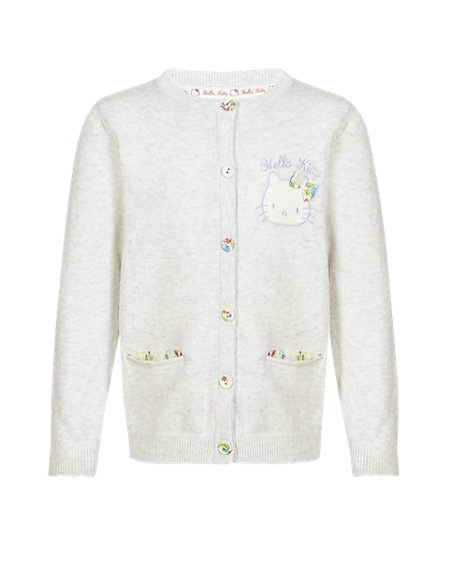 Hello Kitty Pure Cotton Cardigan with StayNEW™ (1-7 Years)