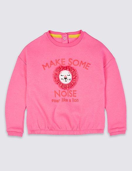 Cotton Rich Sweatshirt (3 Months - 7 Years)