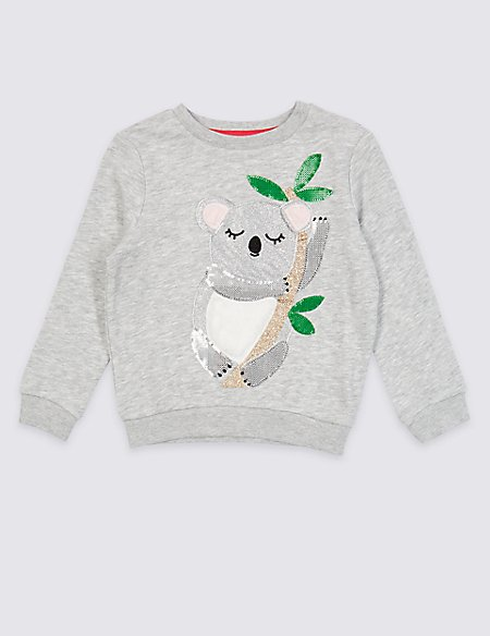Cotton Rich Sweatshirt (3 Months - 7 Years)
