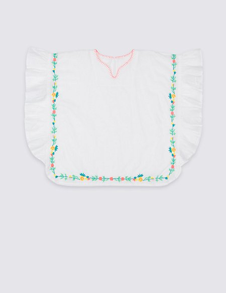 Pure Cotton Embroidered Kaftan (3 Months - 7 Years)
