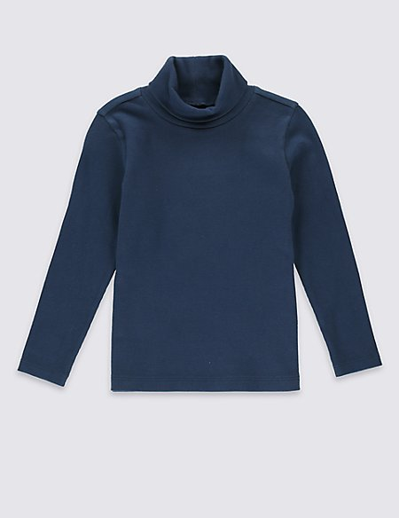 Cotton Rich Long Sleeve Top (3 Months - 5 Years)