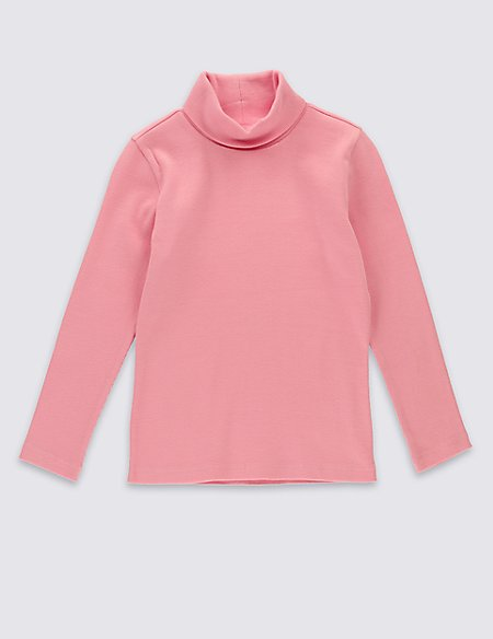 Cotton Rich Long Sleeve Jersey Top (2-5 Years)