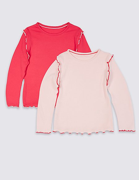 2 Pack Cotton Top with Stretch (3 Months - 7 Years)