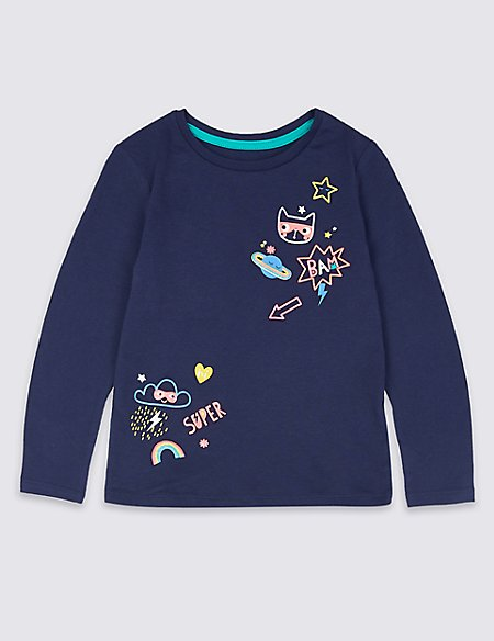 Pure Cotton Top with StayNEW™ (3 Months - 7 Years)