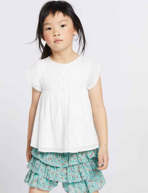 49abc5b61 Girls Clothes - Little Girls Designer Clothing Online | M&S