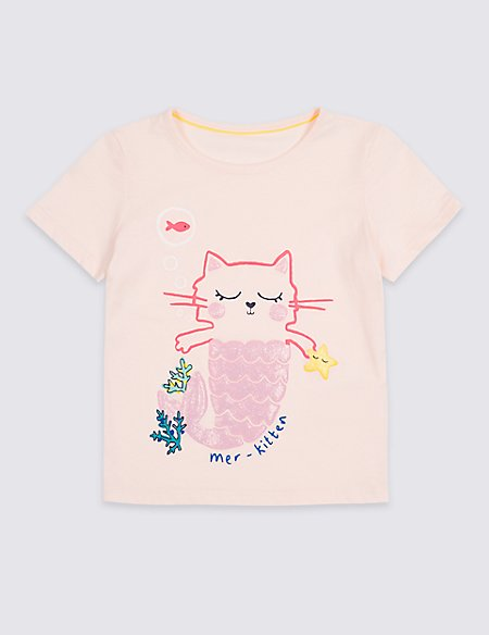 Pure Cotton Kitten Top with StayNEW™ (3 Months - 7 Years)