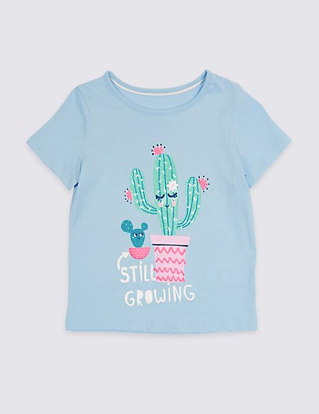 Pure Cotton Cactus Top with StayNEW™ (3 Months - 7 Years)