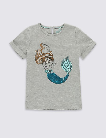 Disney Princess Ariel T-Shirt (1-7 Years)