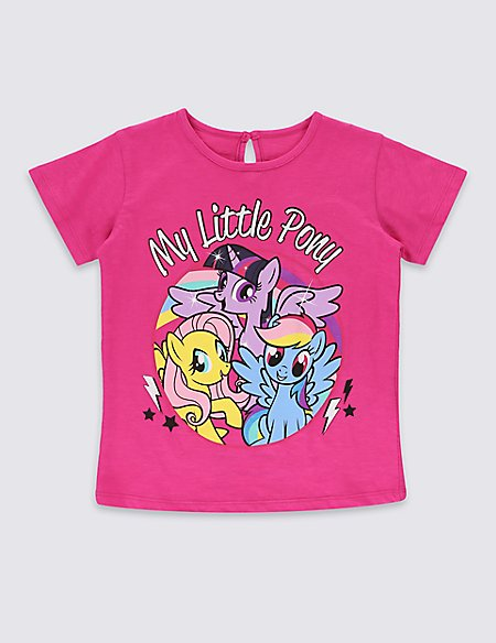 Pure Cotton My Little Pony T-Shirt (1-7 Years)