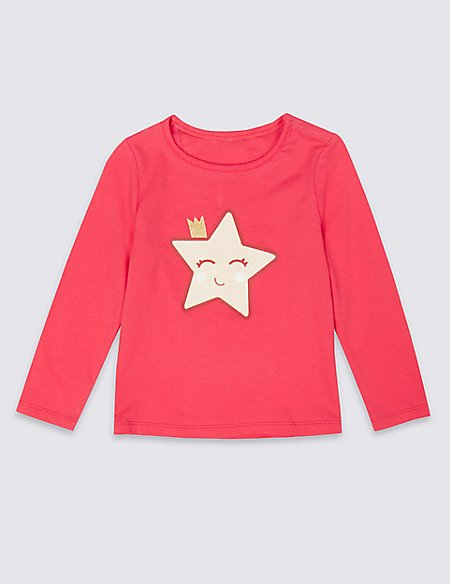 Easy Dressing Star Top (3 Months - 7 Years)