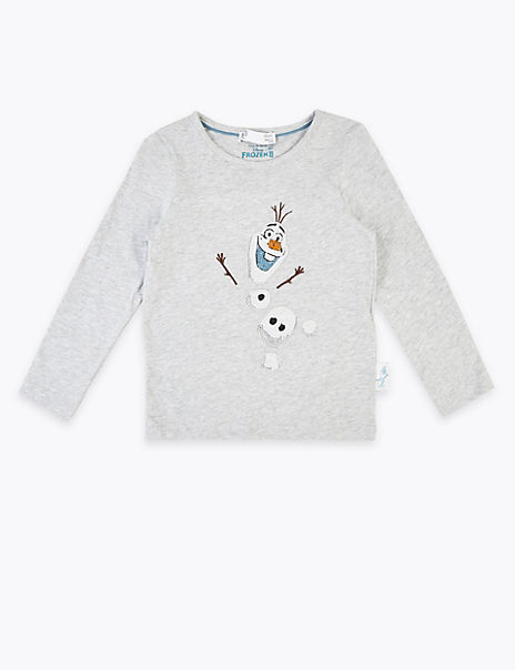 Disney Frozen™ 2 Olaf Cotton T-Shirt (2-10 Years)