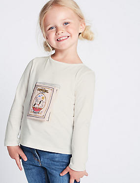 Pure Cotton Top (3 Months - 7 Years)