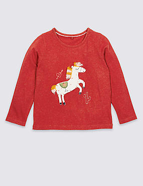 Cotton Rich Top (3 Months - 7 Years)