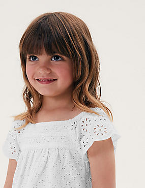 Pure Cotton Top (2-7 Yrs)
